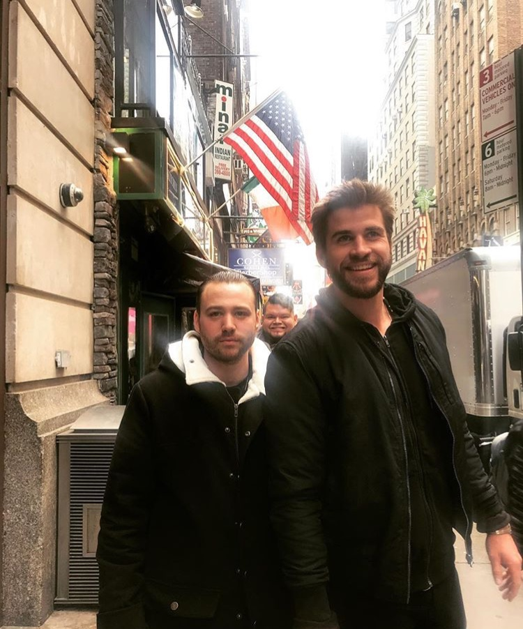 1 - Emory and Liam on set in NYC.jpg
