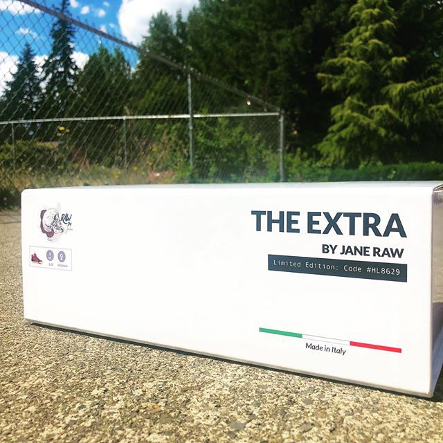 Did you get yours yet? #TheExtra #rawbyjane