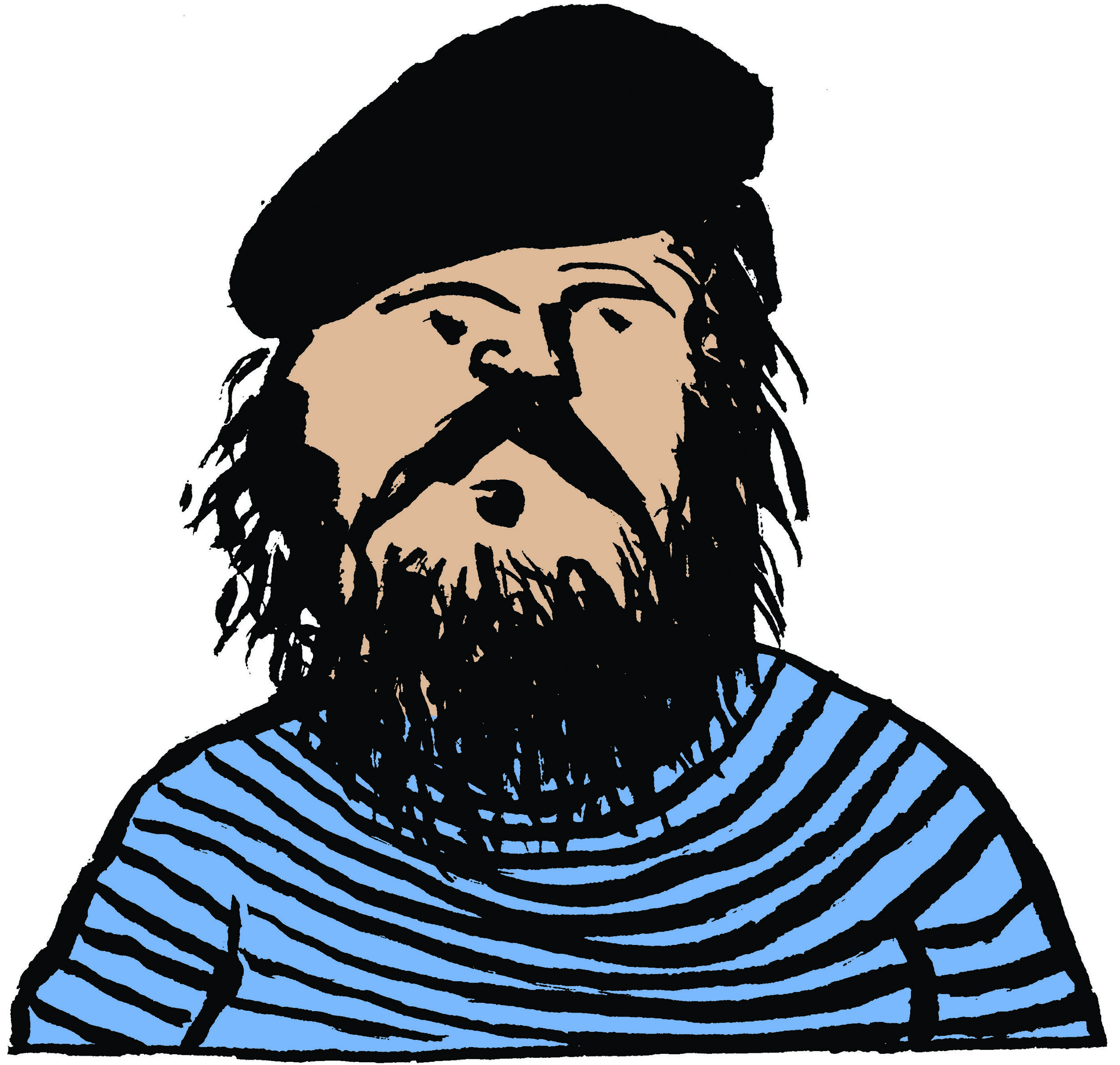 Portrait Of The Artist As A Hairy Beatnik