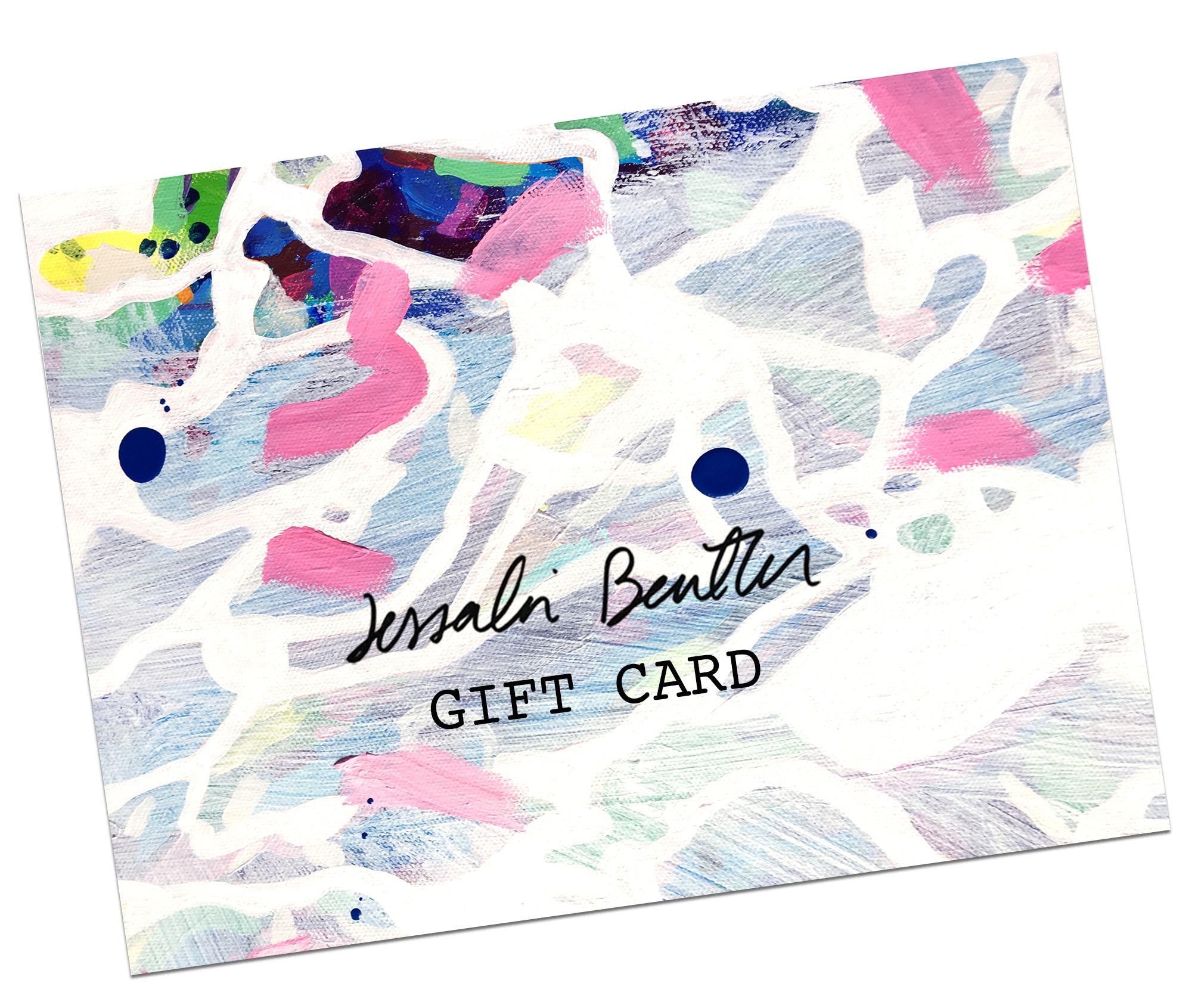 Digital Gift Cards - ..for you or a friend. You will get a unique code emailed that can applied to any order. Use it as a gift or a layaway plan for yourself!