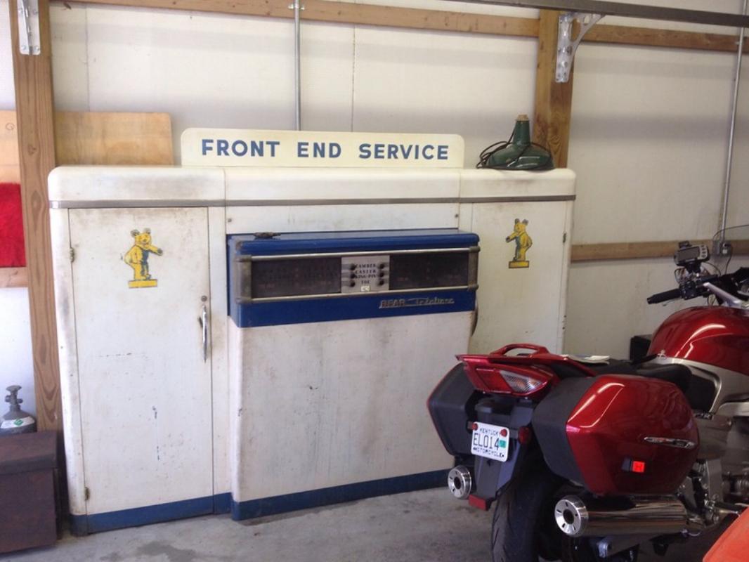 Bear modified Shure cabinet