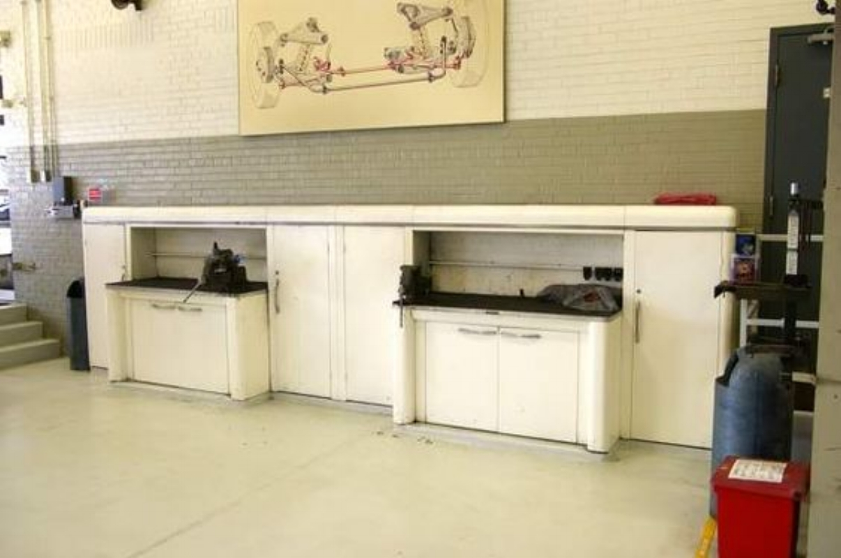 Dual Shure setup at Brake Museum