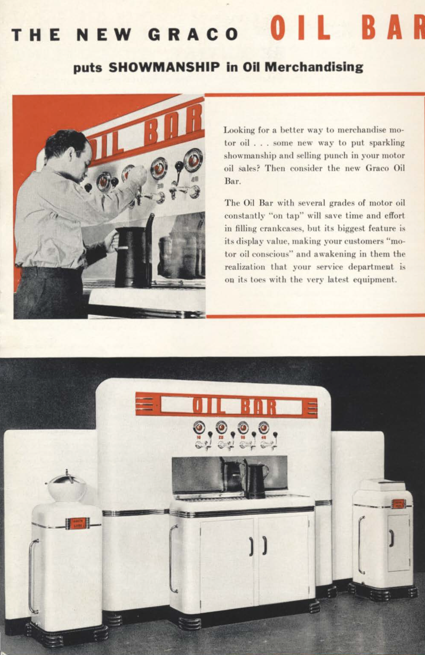Graco Oil Bar from 1941 Catalog