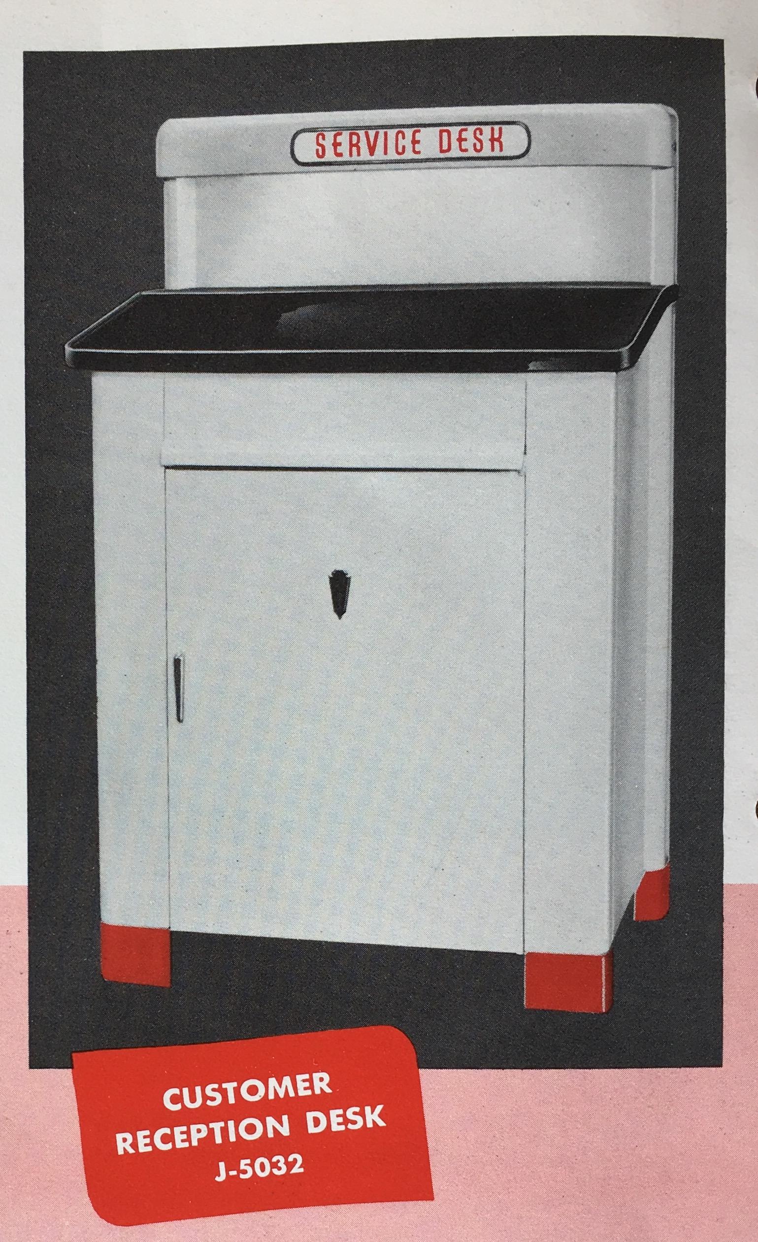 Customer Service Desk 1948