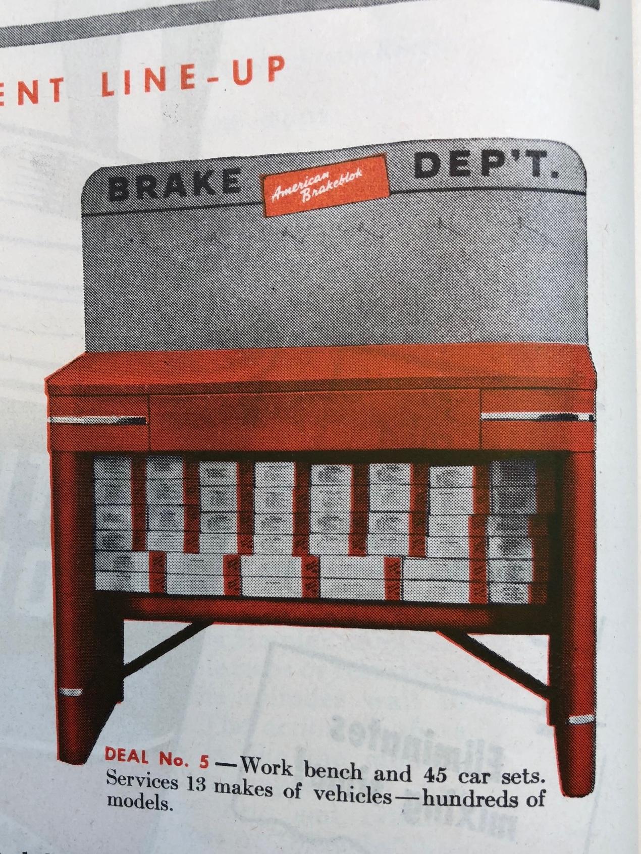 American Brakeblok ad