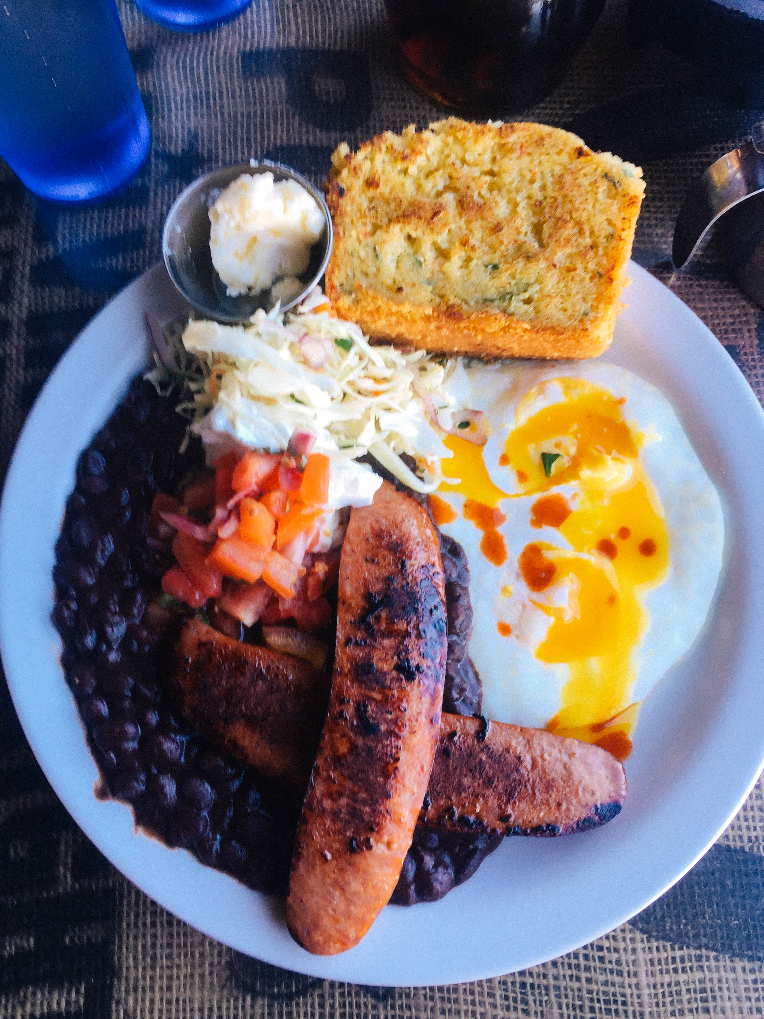 The Zydeco Breakfast at Crossroads Cafe, Joshua Tree, CA