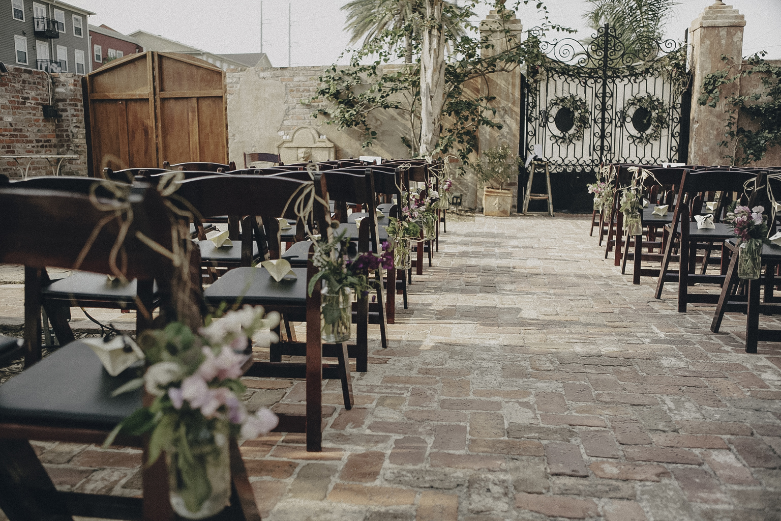 Race and Religious Wedding Planner with Vintage Florals