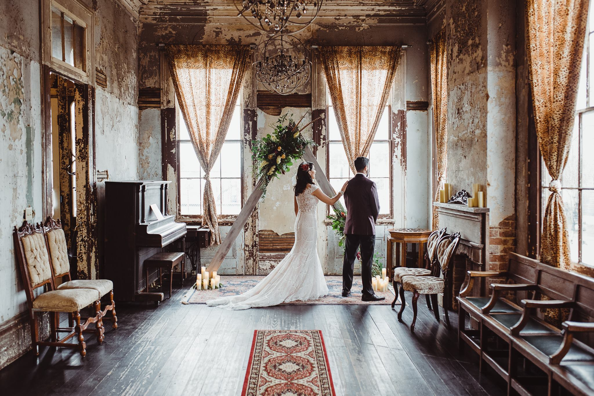 Bohemian New Orleans Wedding at The Seraphim House
