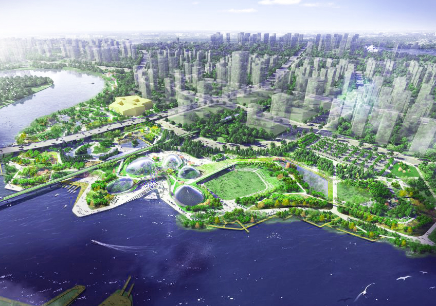 Tianjin Sino-Singapore Friendship Park    Grant Associates IFLA - Multi Award Winner