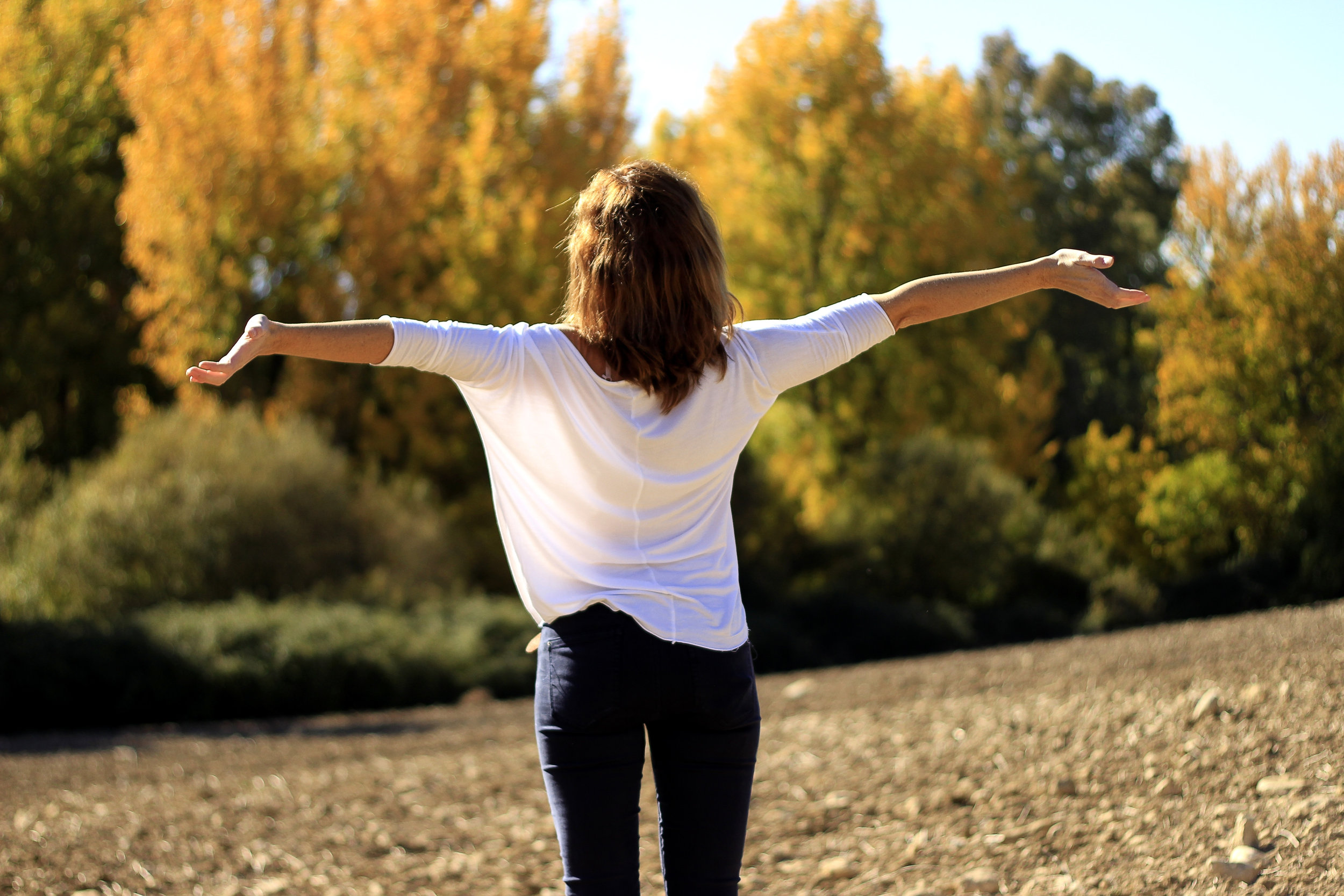Canva - Woman in Wide Open Arms Facing the Sunlight.jpg