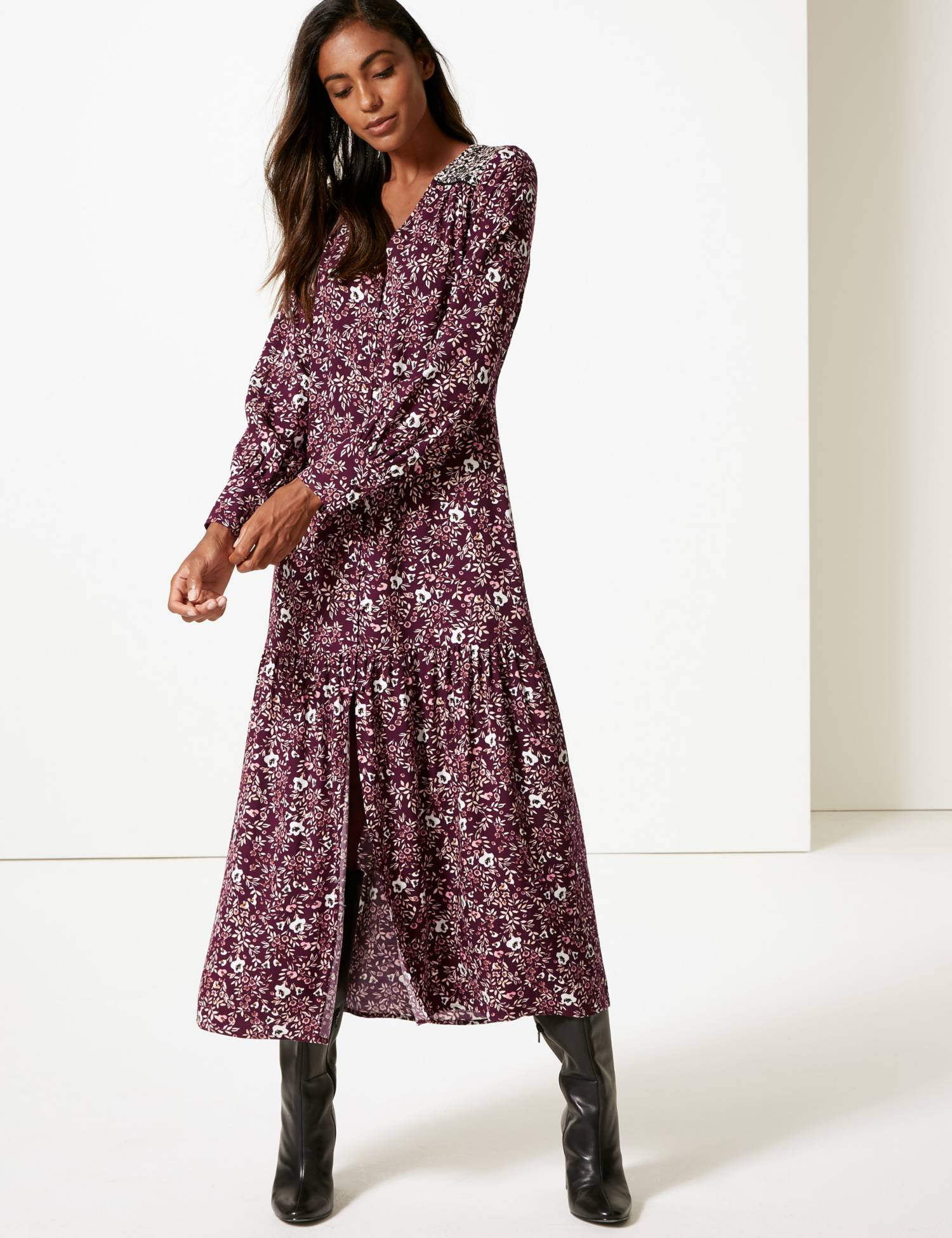 You can buy this dress by M&S    here   .