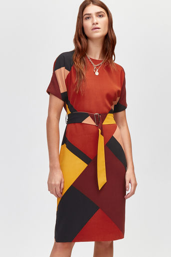 This dress by Warehouse can be bought    here   .