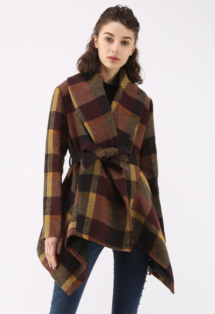 Have a look at this nice poncho by Wish Chic    here   .