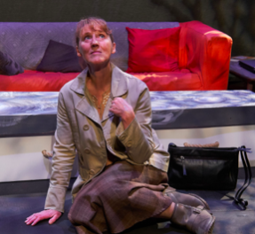 Beryl as Myra in Colder Than Here by Laura Wade, photograph: Michael J Oaks