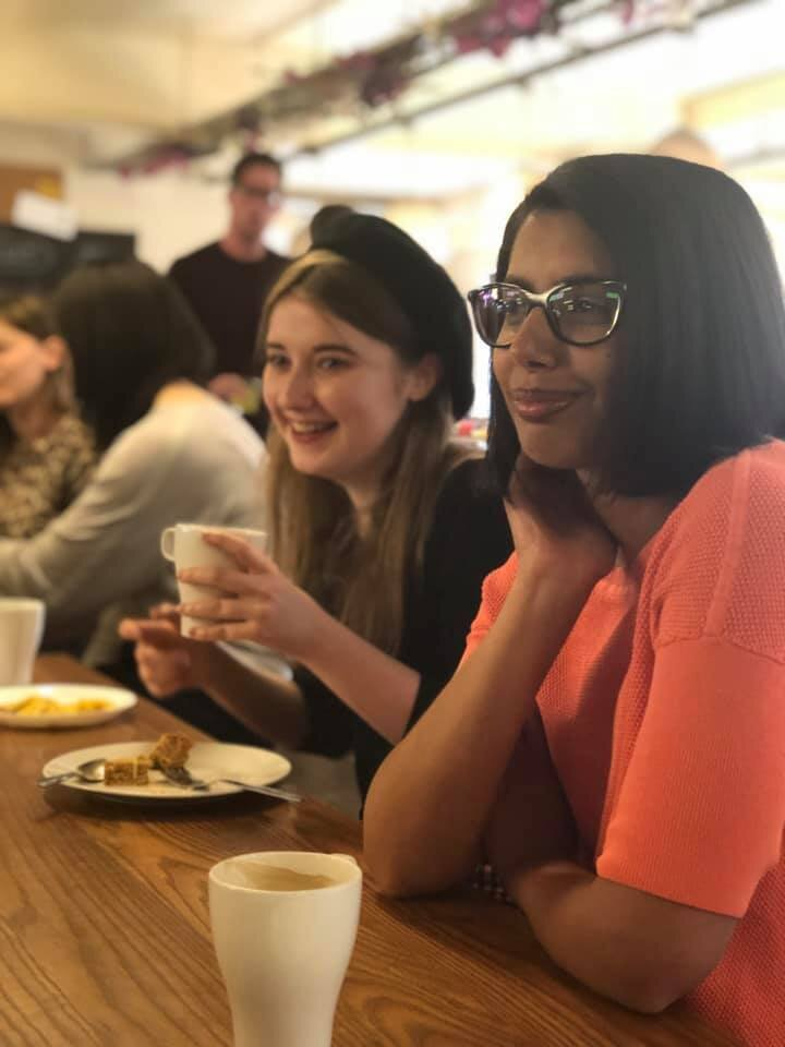 Picture from Manchester Girl coffee event 2019