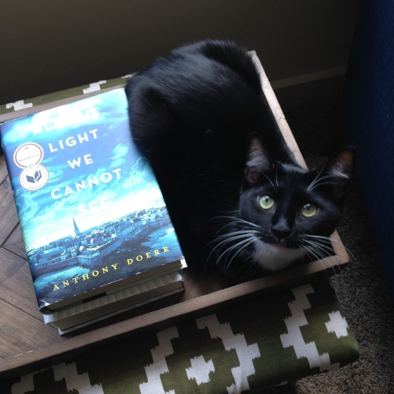 Margot combines her love of books and boxes.