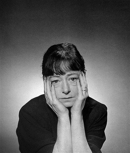 Dorothy Parker, witty and brilliant and bright.