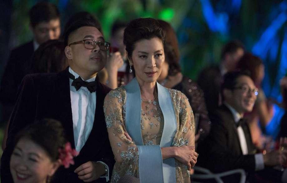 Michelle Yeoh in Jon M. Chu's  Crazy Rich Asians.