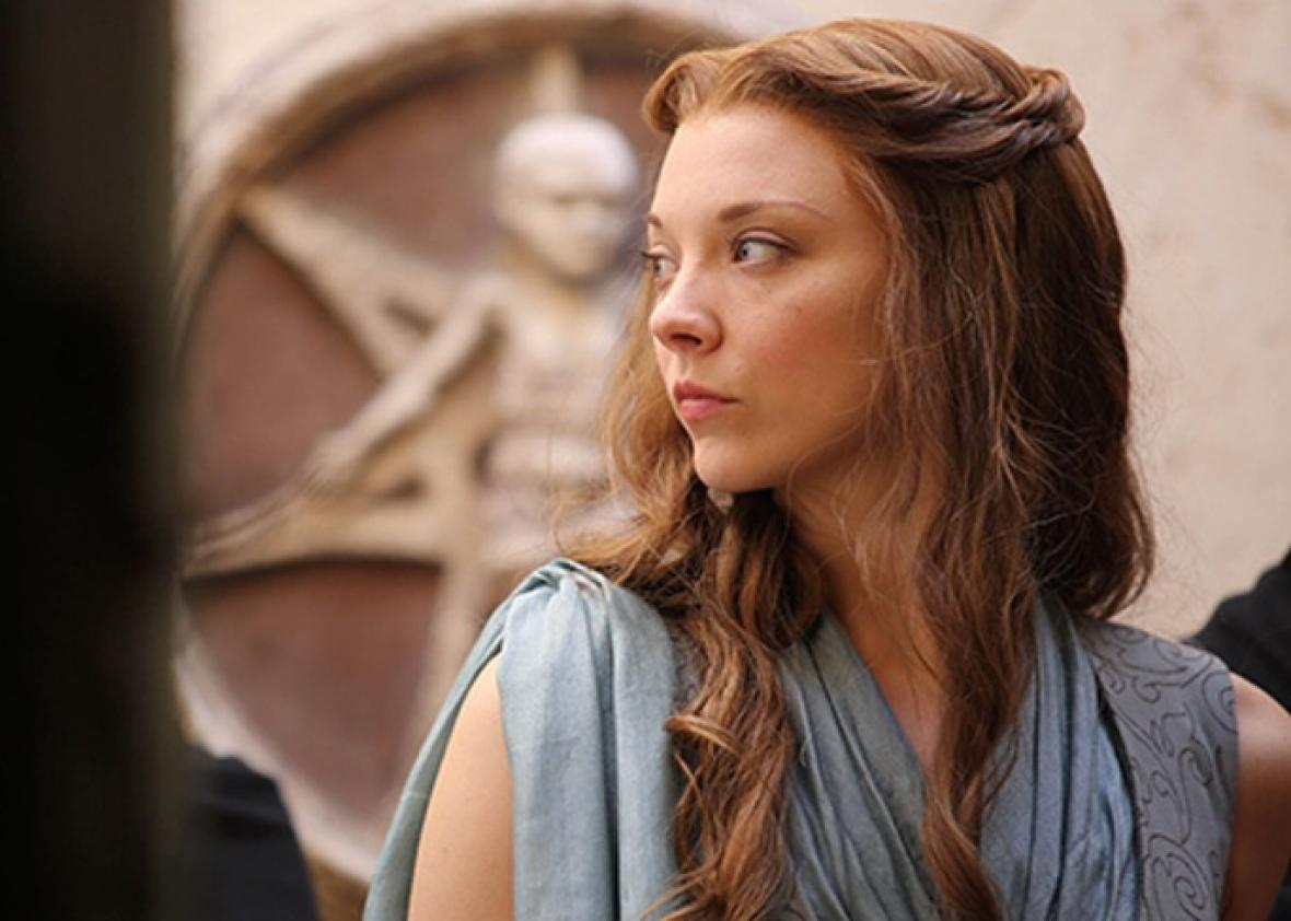 Natalie Dormer as Margaery Tyrell (my favorite character) in HBO's  Game of Thrones.