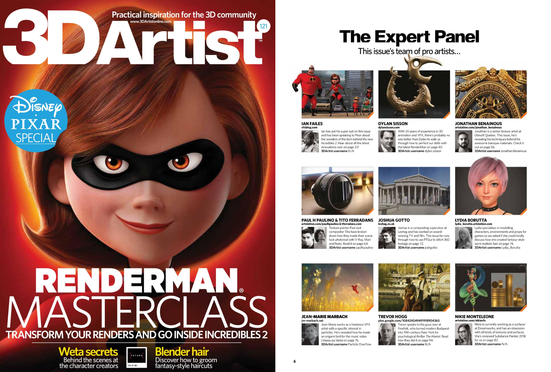 Check out my review for Substance painter 2018 in this INCREDIBLE 3D Artist Magazine, issue 121!