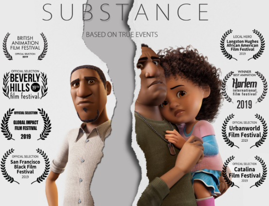 """SUBSTANCE"" short film is on a roll! Check out  substanceshortfilm.com  for more info and where you can see it in your city."