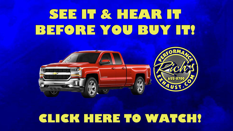 Richs Performance Exhaust Center LLC