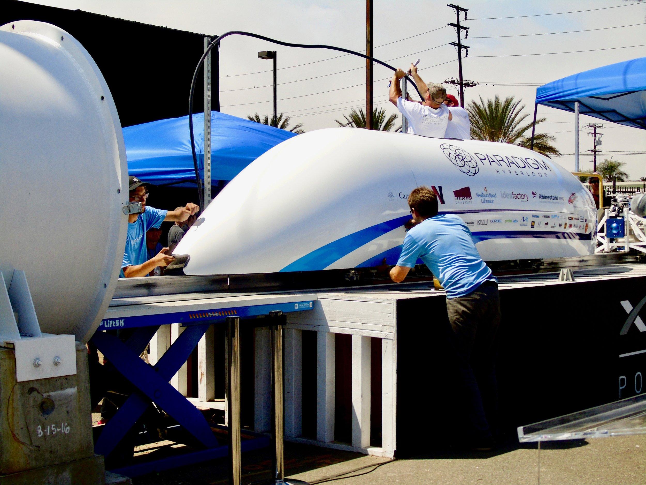 Paradigm Hyperloop - January - August 2017