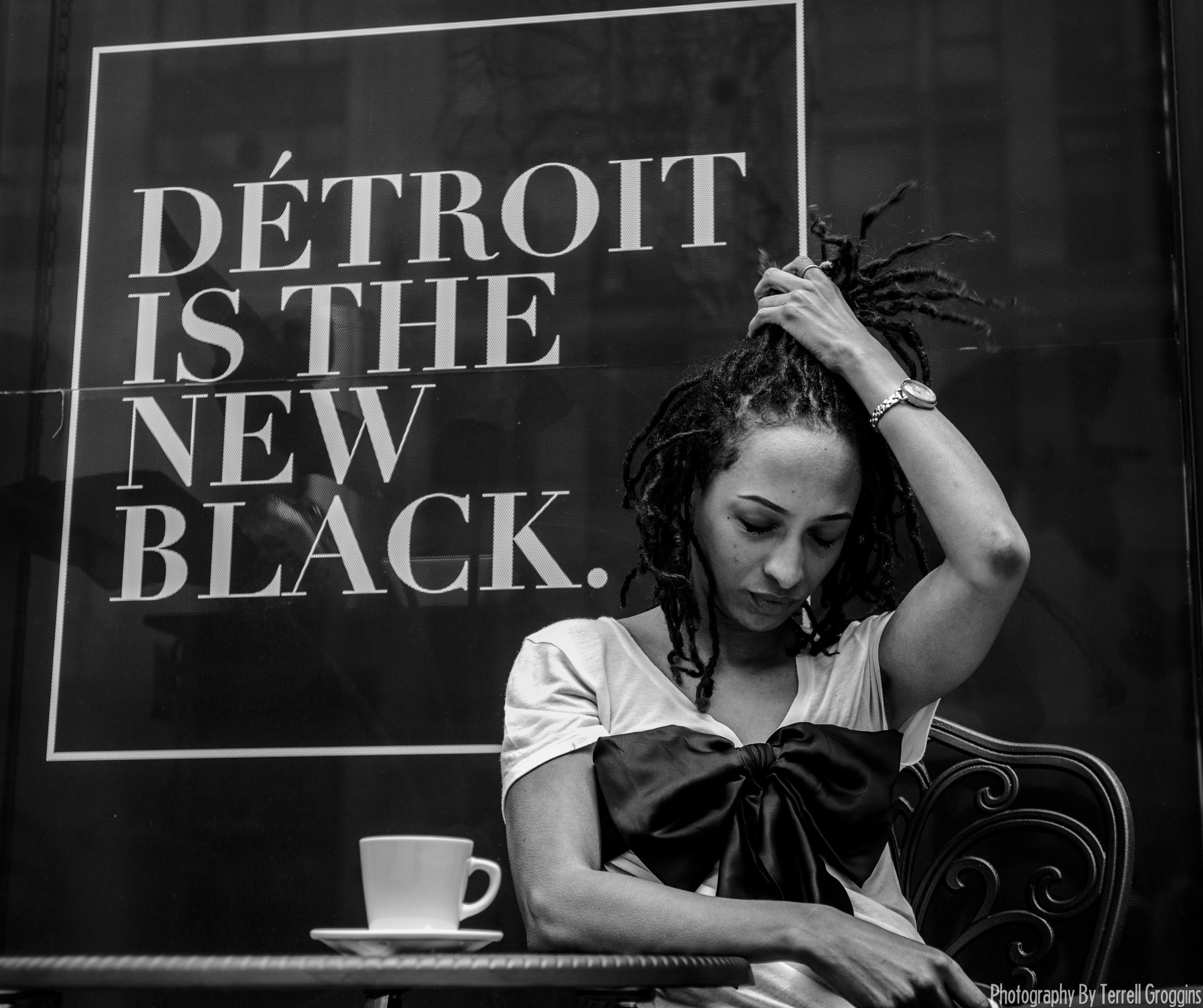 Detroit is the new black  is a clothing store in Detroit