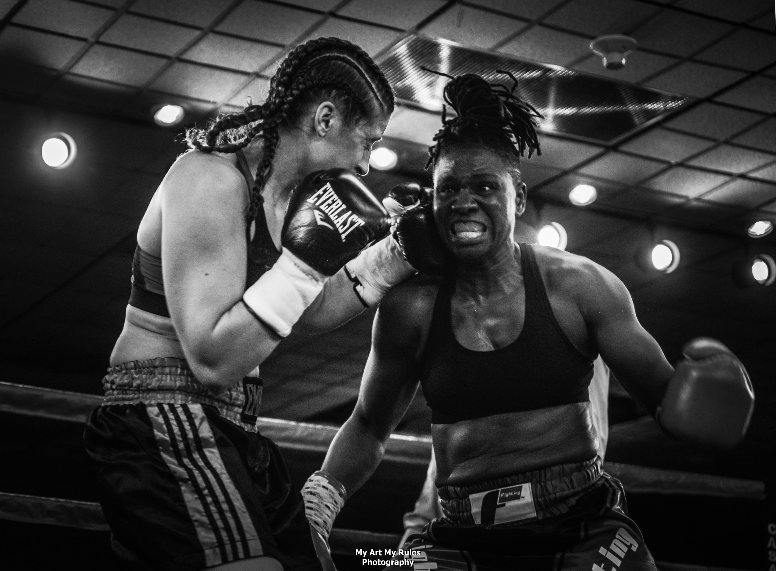 Edith Ogeko Victorious Over Kiara Marquez in Middleweight Debut