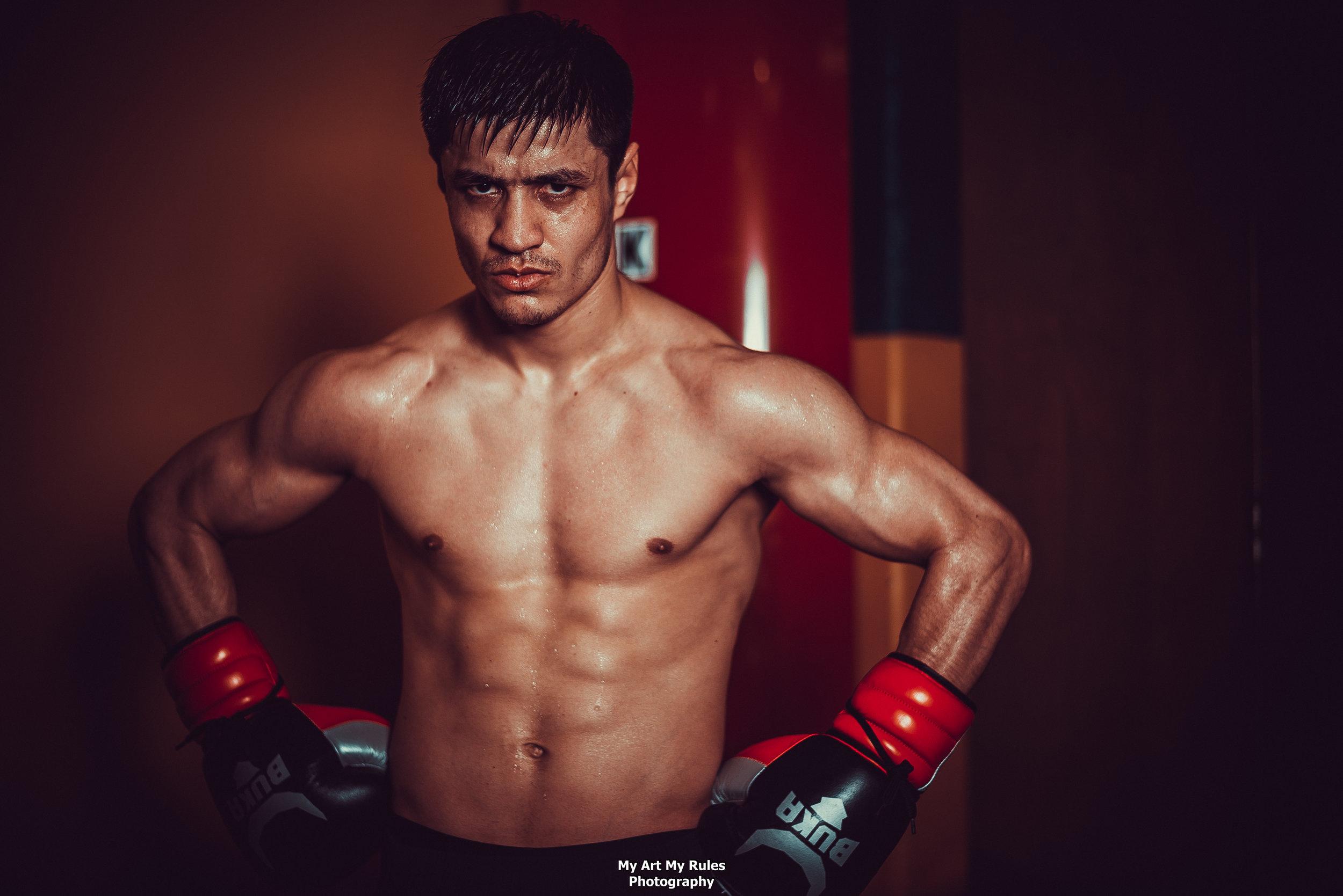 From Uzbekistan To Detroit Shohjahon Ergashev Wins on Showtime's Shobox
