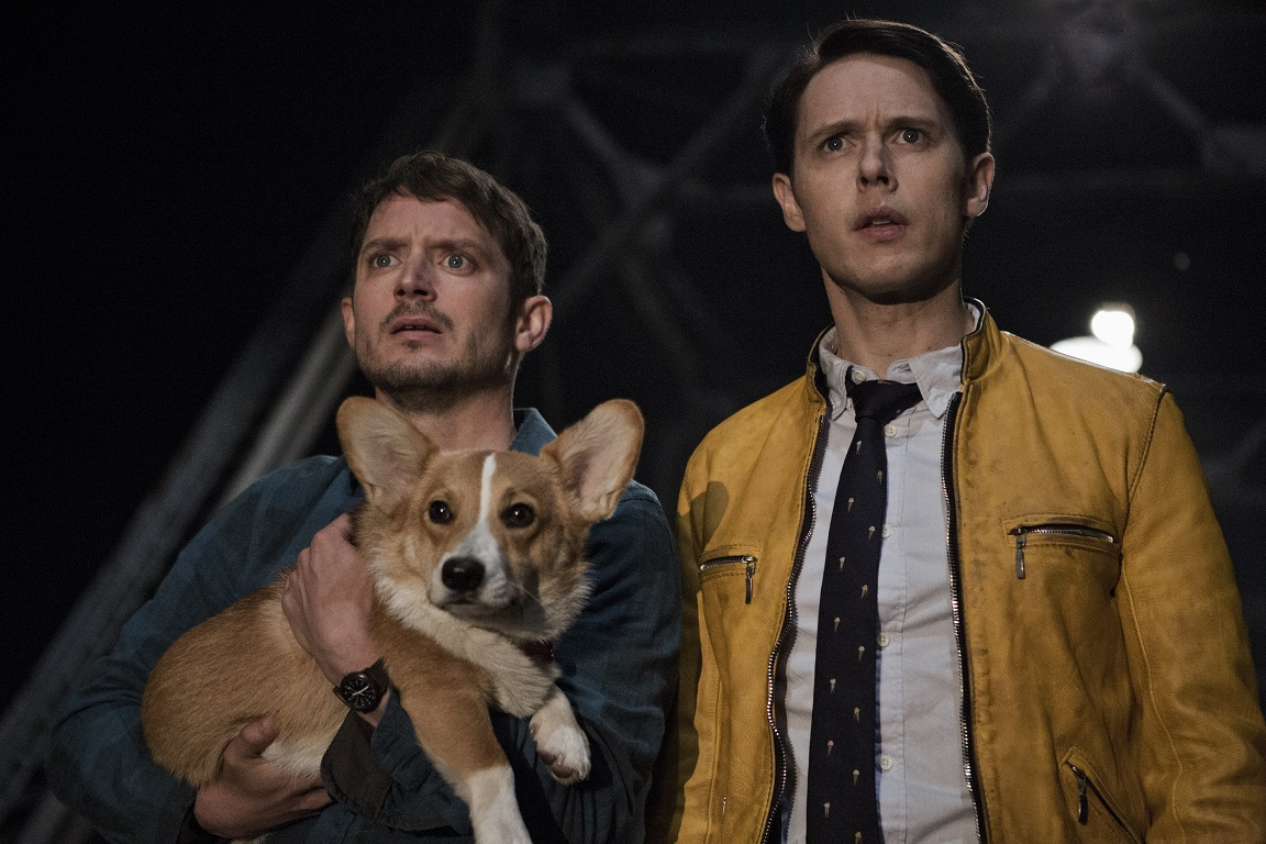 Barking Mad: Elijah Wood (Todd) and Samuel Barnett (Dirk) in Netflix's  Dirk Gently's Holistic Detective Agency