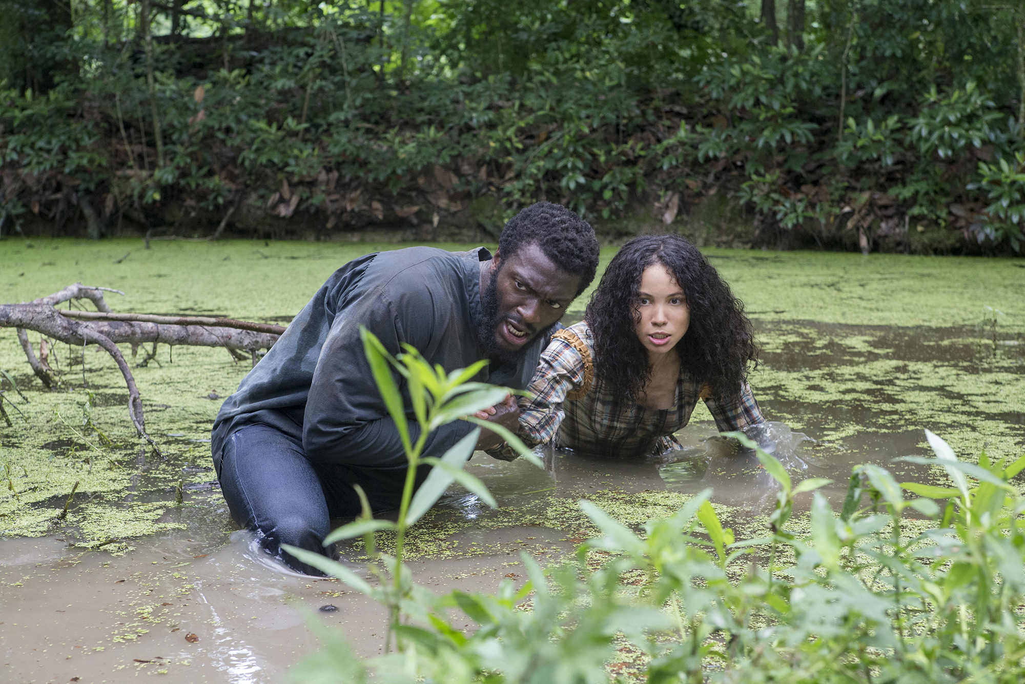 A Great Escape: Aldis Hodge (Noah) and Jurnee Smollett-Bell (Rosalee) in Stan's  Underground