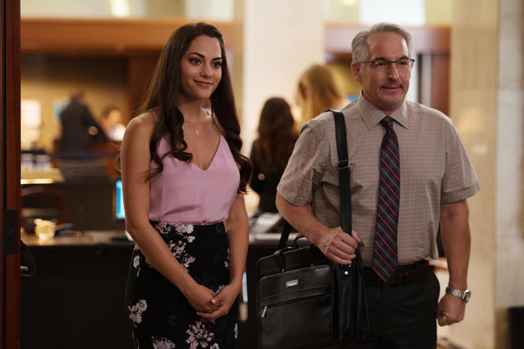 Identity Crisis: Inbar Lavi (Maddie/Ava/Saffron...) and Brian Benben (Max) in Stan's  Imposters