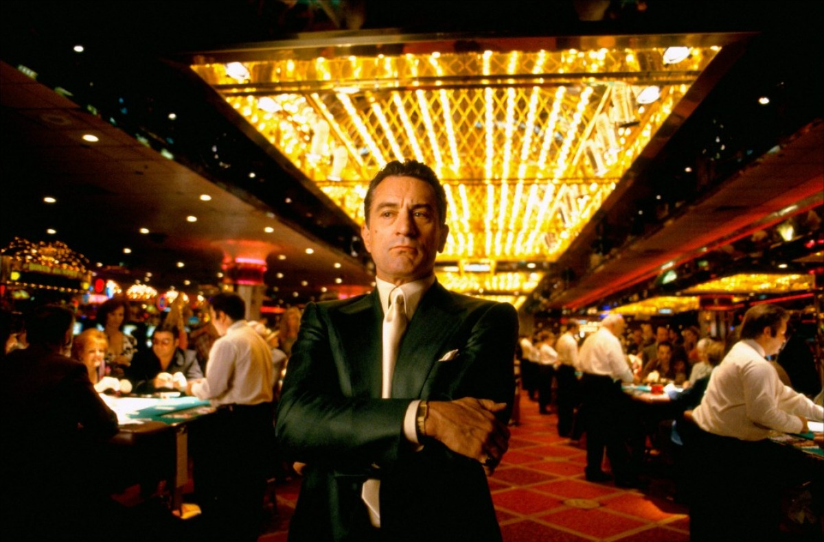 "Crime and the City Solution: Robert De Niro (Sam ""Ace"" Rothstein) in Martin Scorsese's  Casino"