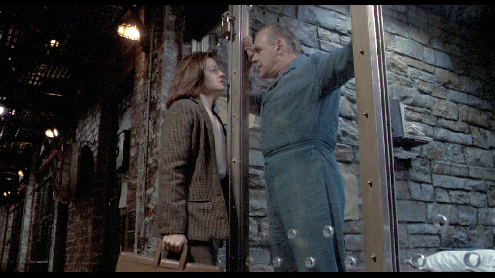 Monsters, Inc:Jodie Foster (Clarice Starling) and Anthony Hopkins (Hannibal Lecter) in Netflix's  The Silence of the Lambs