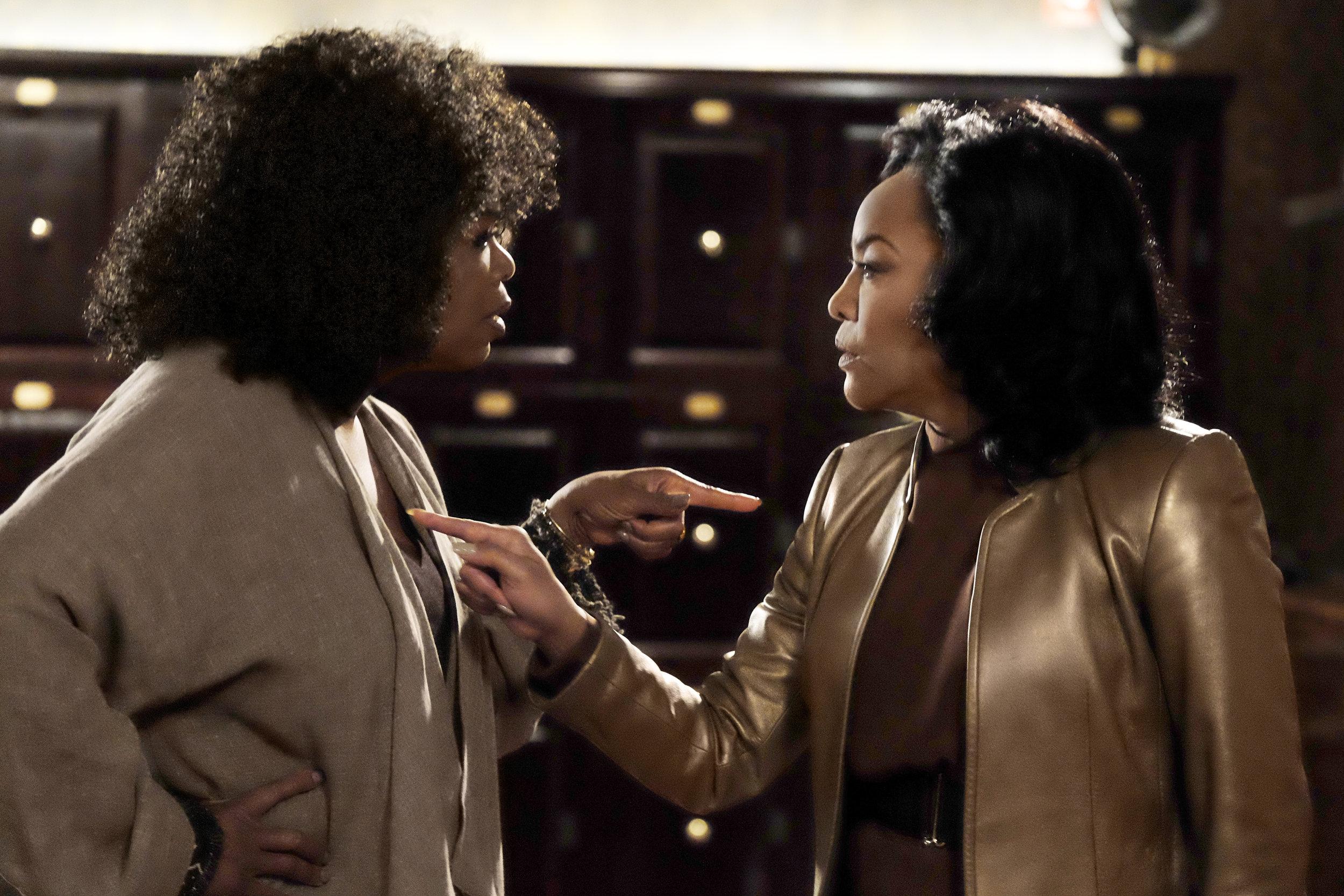 On Point: Oprah Winfrey (Mavis) and Lynn Whitfield (Lady Mae) in Netflix's  Greenleaf