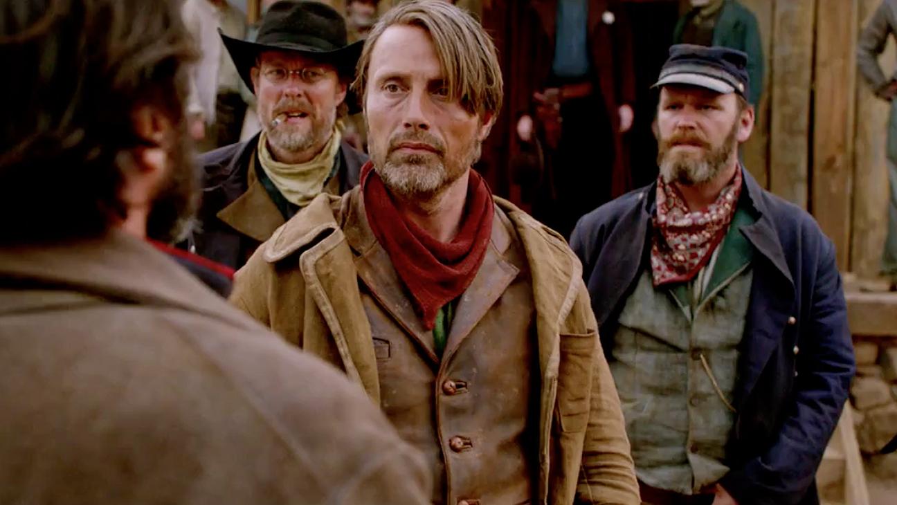 New World Disorder: Mads Mikkelsen (Jon, centre) in Netflix's  The Salvation
