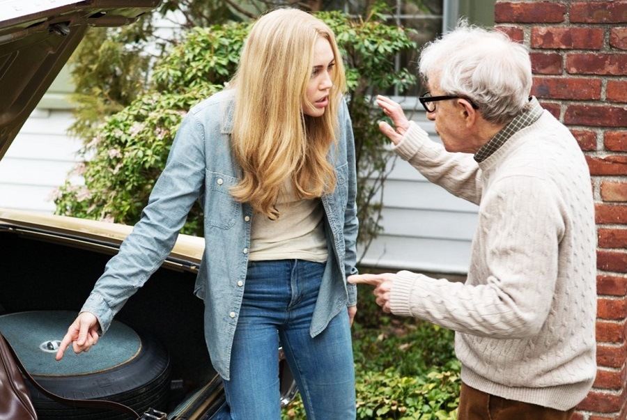 Take the Money and Run: Miley Cyrus (Lennie) and Woody Allen (Sid) in Amazon's  Crisis in Six Scenes