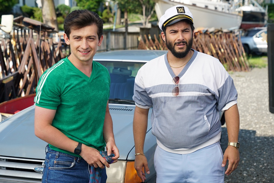 Permission to Board: Craig Roberts (David) and Ennis Esmer (Nash) in Amazon's  Red Oaks