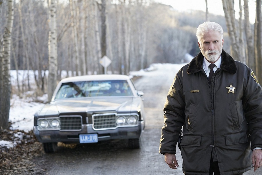 Where Nobody Knows Your Name: Ted Danson (Sheriff Larsson) in Stan's  Fargo