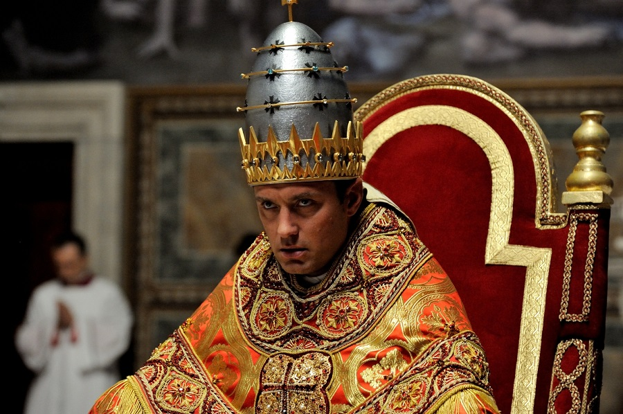 Holy Terror: Jude Law (Pope Pius XIII) in SBS on Demand's  The Young Pope