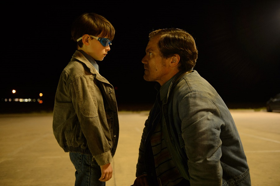 Close Encounter: Jaeden Lieberher (Alton) and Michael Shannon (Roy) in Netflix's  Midnight Special