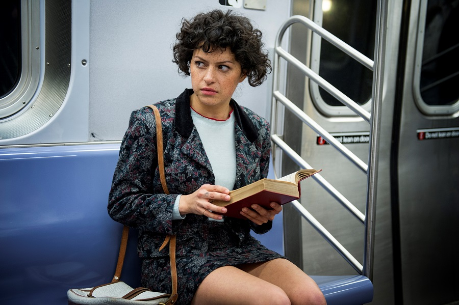 The Girl on the Train: Alia Shawkat (Dory Sief) in SBS on Demand's  Search Party