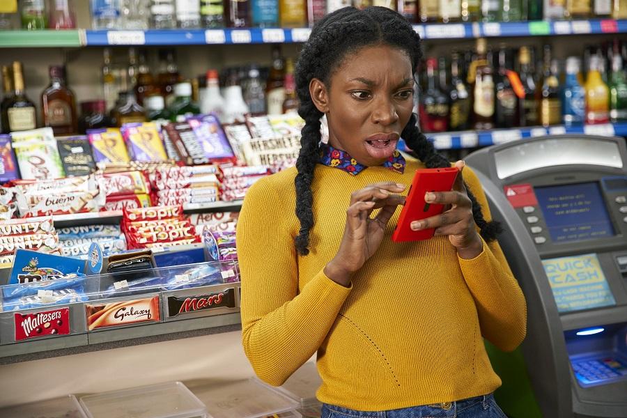 Hotline Bling: Michaela Coel (Tracey Gordon) in Netflix's  Chewing Gum