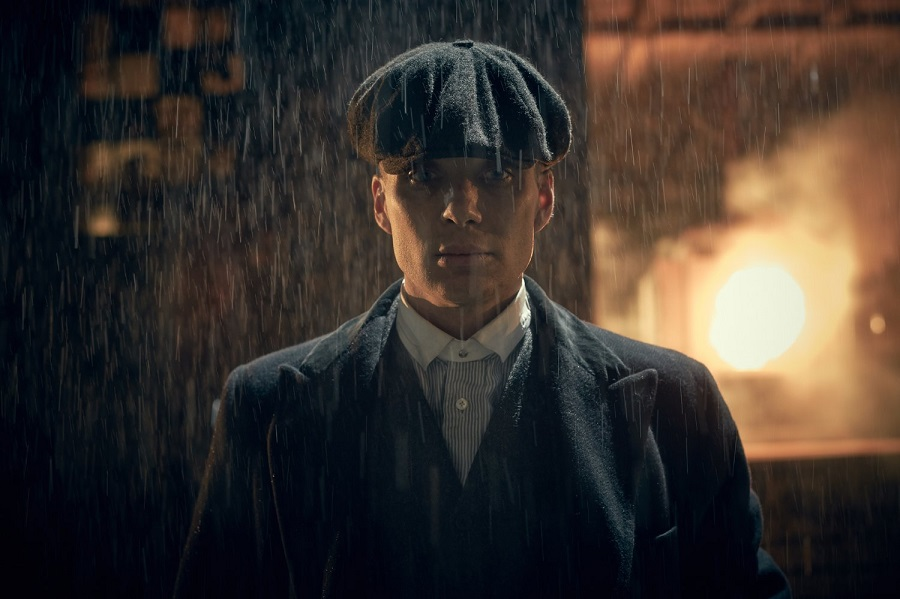 Stinging in the Rain: Cillian Murphy (Tommy Shelby) in Netflix's  Peaky Blinders