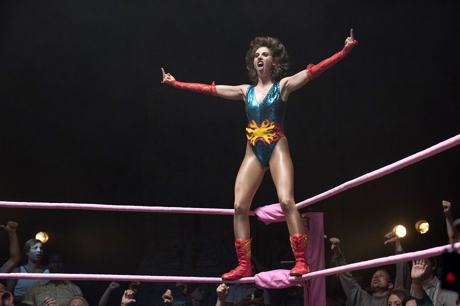 On the Ropes: Alison Brie (Ruth Wilder) finds an audience in Netflix's  Glow