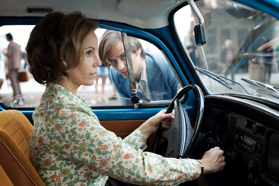Pull Up to the Bumper: Sofia Helin (Lauren) and Tom Schilling (Lars) in Netflix's  The Same Sky
