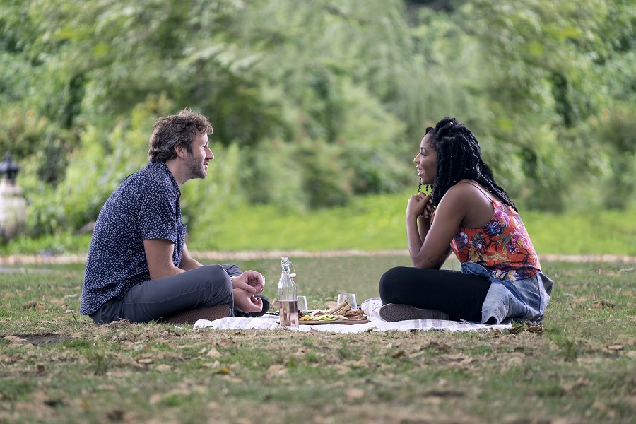 Parklife: Chris O'Dowd (Boone) and Jessica Williams (Jessica) in Netflix's  The Incredible Jessica James