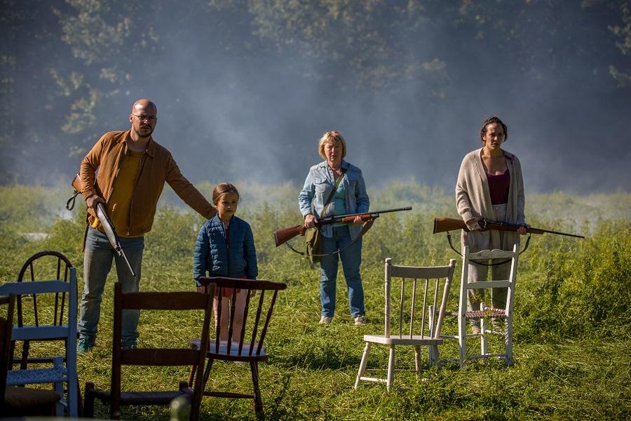 Apocalypse How: Bewildered survivors in Netflix's zombie thriller  Ravenous