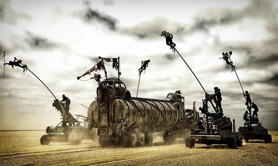 Boarding Party: Vehicular mayhem in  Mad Max: Fury Road